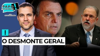 IMAGEM: AO VIVO: PGR bolsonarista salva até tucanos – Papo Antagonista com Crusoé e Arthur do Val