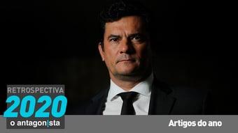 "IMAGEM: Sergio Moro: ""Em defesa da Lava Jato"""