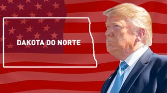 IMAGEM: Trump vence na Dakota do Norte