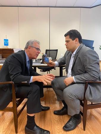 IMAGEM: Ministro diz que energia no Amapá deve ser totalmente restabelecida em 10 dias