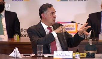 IMAGEM: OEA elegeu sistema eleitoral brasileiro como o mais ágil e seguro das Américas, diz Barroso