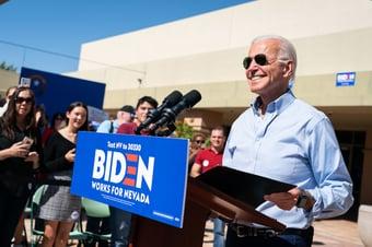 IMAGEM: Nevada certifica vitória eleitoral de Joe Biden