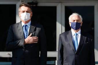 IMAGEM: Almoço com Bolsonaro, Temer e mais 400 é cancelado por causa da Covid-19
