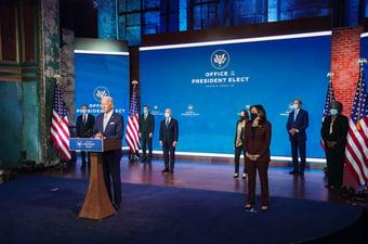 IMAGEM: Esquerda radical não deve ter espaço no governo Biden