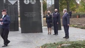 IMAGEM: Biden visita Memorial da Guerra da Coreia