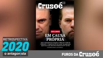 IMAGEM: Furos da Crusoé: o fim do mundo em causa própria