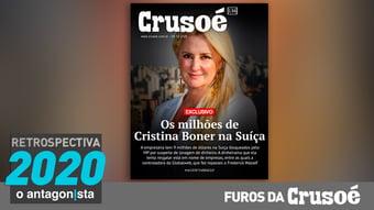 IMAGEM: Furos da Crusoé: os milhões da ex de Wassef