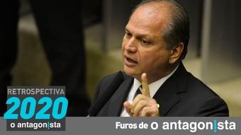 IMAGEM: Furos de O Antagonista: Ricardo Barros, o líder encrencado