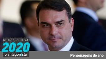 IMAGEM: Flávio Bolsonaro: ainda mais enrolado