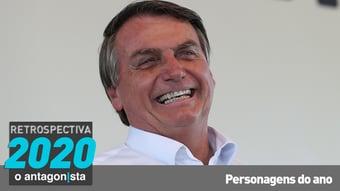 """IMAGEM: Jair Bolsonaro: da """"gripezinha"""" ao casamento com o Centrão"""