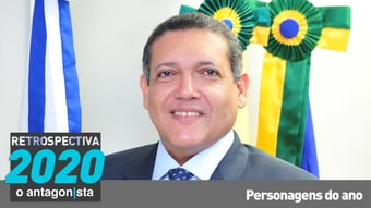 IMAGEM: Kassio Marques, o ministro tubaína de Bolsonaro
