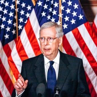 IMAGEM: Líder republicano no Senado diz a colegas que não contestem resultado de eleição