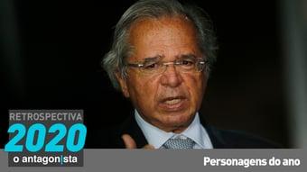 IMAGEM: Paulo Guedes, o ex-super ministro