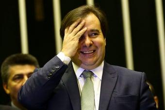 IMAGEM: Rodrigo Maia: 'Arthur Lira virou humorista'