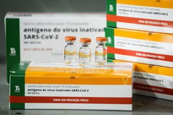 IMAGEM: Butantan entrega mais 900 mil doses da Coronavac