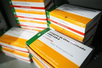 IMAGEM: Governo entrega mais 9,1 milhões de doses de vacinas; 8,4 milhões são Coronavac