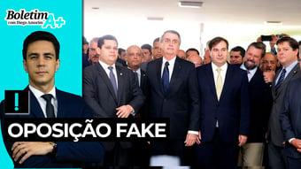 IMAGEM: Boletim A+: oposição fake