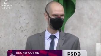 IMAGEM: Bruno Covas faz radioterapia e tira licença de 10 dias