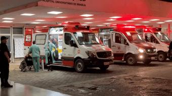 IMAGEM: Hospital Universitário de Brasília recebe mais 15 pacientes vindos de Manaus