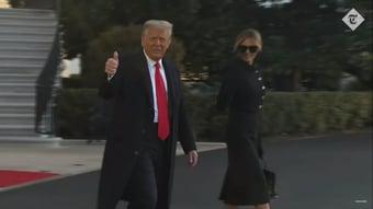 """IMAGEM: Trump: """"Nós amamos vocês, voltaremos de alguma forma"""""""
