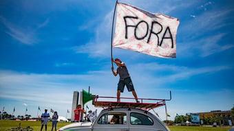 IMAGEM: Esquerda nas ruas contra Bolsonaro