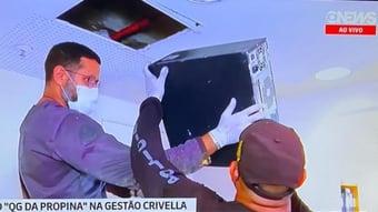 IMAGEM: QG da Propina: computador é achado em duto de ar-condicionado na Riotur
