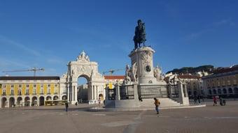 IMAGEM: Depois de confinamento, Portugal registra 1 morte por Covid em 24 horas
