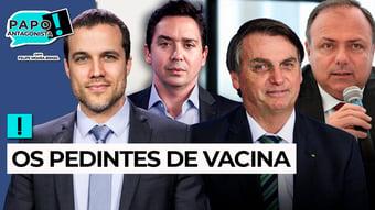IMAGEM: AO VIVO: EM BUSCA DAS VACINAS PERDIDAS – Papo Antagonista com Felipe Moura Brasil e Claudio Dantas