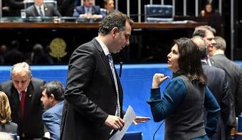 IMAGEM: Pacheco já teria votos para ser eleito no Senado