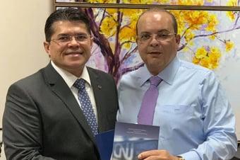 IMAGEM: Investigado por fraudes, sócio de Ibaneis mantém posição de prestígio na OAB