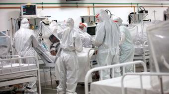 IMAGEM: Covid-19: Brasil registra 1.050 mortes em 24 horas, diz Saúde