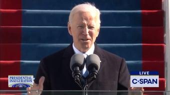 IMAGEM: Biden relembra luta pelo voto feminino e vitória de Kamala Harris
