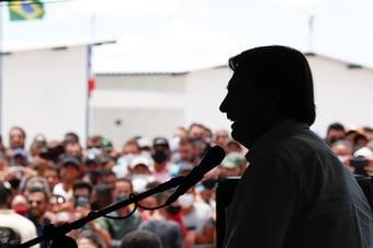"""IMAGEM: """"A mentira tornou-se política de Estado sob Bolsonaro"""""""
