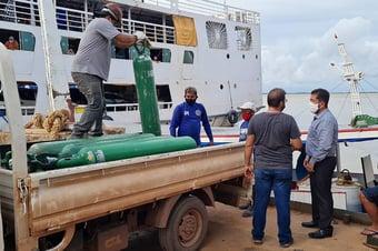 IMAGEM: Cidade do Pará entra em colapso por falta de oxigênio