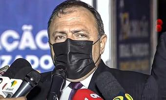 """IMAGEM: """"Nenhum estado é mais importante do que outro"""", diz Pazuello"""