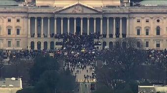 IMAGEM: Trumpistas organizam atos para o dia da posse de Biden