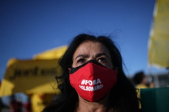 IMAGEM: Oposição marca para 24 de março novos protestos contra Bolsonaro