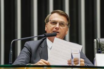 IMAGEM: Em 2007, Bolsonaro defendeu decisão do STF para obrigar Câmara a abrir CPI