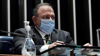 IMAGEM: Pazuello preteriu vacina da Pfizer por achar que Brasil não precisaria