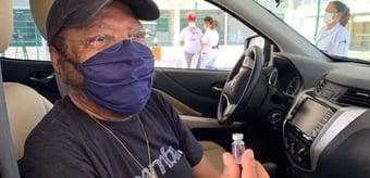 IMAGEM: A vacinação no Brasil vai devagar, devagarinho