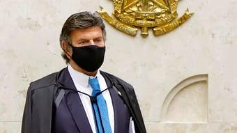 IMAGEM: Fux antecipa para quarta julgamento sobre CPI da Covid