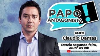 IMAGEM: Hoje estreia Papo Antagonista com Claudio Dantas