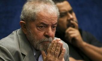 IMAGEM: PGR defende manter bloqueio de bens de Lula