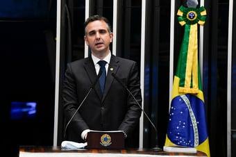 IMAGEM: Leia a íntegra do discurso de Rodrigo Pacheco