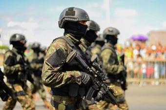 IMAGEM: Forças Armadas já tiveram 51 mil militares infectados por Covid