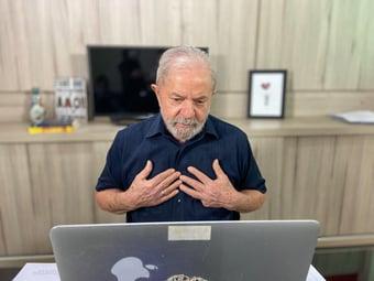 IMAGEM: Fator Bolsonaro impede encontro de Lula com Pacheco
