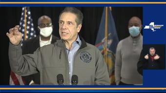IMAGEM: Nova York anuncia vacinação dos maiores de 60 anos