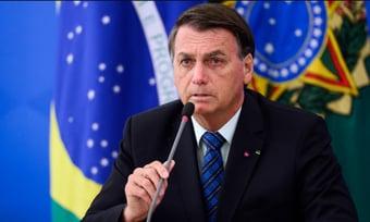 IMAGEM: Bolsonaro diz que governadores usaram recursos da Covid para quitar folha de pagamento