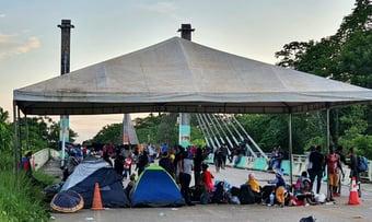 IMAGEM: Justiça concede reintegração de posse de ponte entre Acre e Peru
