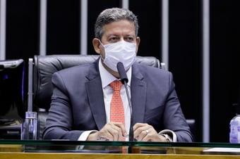 IMAGEM: Após reunião com governadores, Lira pede união para garantir vacinas no Brasil